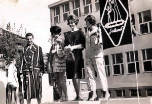 Utrinek iz preteklosti: Svilanitova modna revija leta 1961.