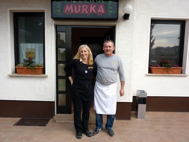 Sonja in Zlato Levanič sta pizzerijo Murka prevzela lani novembra.