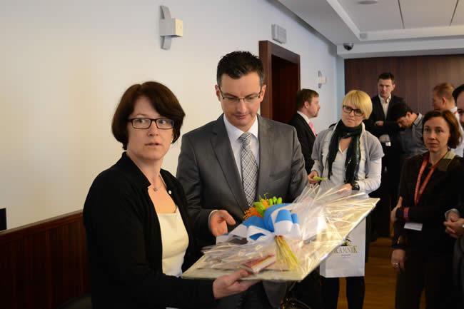 Simona Vrevc, namestnica generalnega sekretarja Alpske konvencije