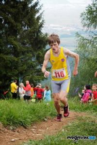 Miran Cvet, zmagovalec teka in državni prvak med veterani