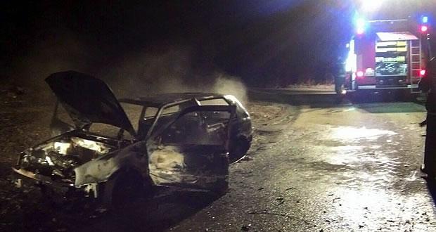 zgorel avto palovce