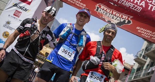 Sebastjan Zarnik ponosni zmagovalec Cortina trail