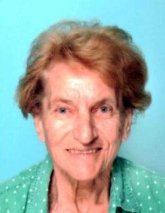 Pogrešana 74-letna Ana Zakrajšek iz Mengša.